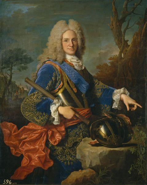 Filip al V-lea al Spaniei (19 decembrie 1683 – 9 iulie 1746) a fost Rege al Spaniei din 1 noiembrie 1700 până la 15 ianuarie 1724, când a abdicat în favoarea fiului său Louis, și din 6 septembrie 1724, când și-a asumat din nou tronul în urma decesului fiului său, până la moartea sa (Portrait by Jean Ranc, 1723)- foto preluat de pe en.wikipedia.org