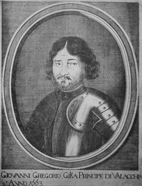 Grigore I Ghica (Grigoraş, sau Grigore Gheorghe Ghica) (n. 1628 - d. 1675, Constantinopole) a fost Domn al Ţării Româneşti între 1 septembrie 1660 - noiembrie (după 27) 1664 şi februarie 1672 - noiembrie 1673 - foto preluat de pe ro.wikipedia.org