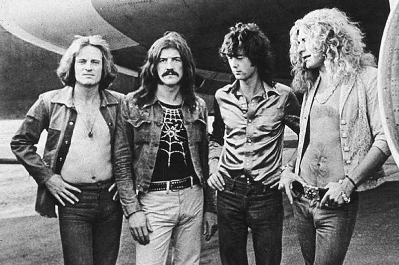 Led Zeppelin a fost o formație de muzică rock din Marea Britanie, care este considerată unul dintre cele mai cunoscute, respectate, inovatoare și inspirante grupuri muzicale ale secolului 20 - foto preluat de pe ultimateclassicrock.com