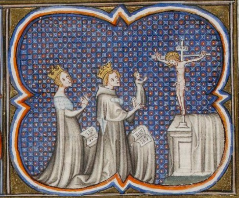 Adela with Louis VII and Philip II - foto preluat de pe en.wikipedia.org