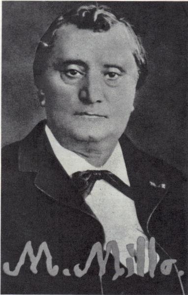 Matei Millo (n. 25 noiembrie 1814, Stolniceni-Prăjescu, Iaşi, Principatul Moldovei - d. 9 septembrie 1896, Bucureşti) a fost un actor şi autor dramatic român - foto preluat de pe ro.wikipedia.org
