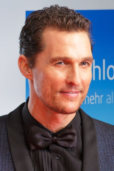 Matthew David McConaughey (n. 4 noiembrie 1969) este un actor american, binecunoscut pentru rolul său în filmul Marea Mahmureală din 1993 - foto preluat de pe en.wikipedia.org