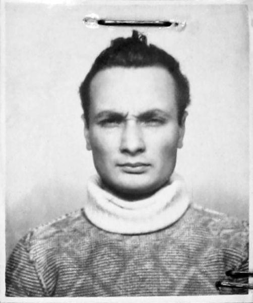 Paul Goma (n. 2 octombrie 1935, Mana, Orhei, România) este un scriitor român, stabilit la Paris, militant anticomunist, cunoscut pentru atitudinile naționaliste și antisemite și ca negaționist al Holocaustului - (Paul Goma în 1956. Fotografie din dosarul penal) - foto preluat de pe pressone.ro