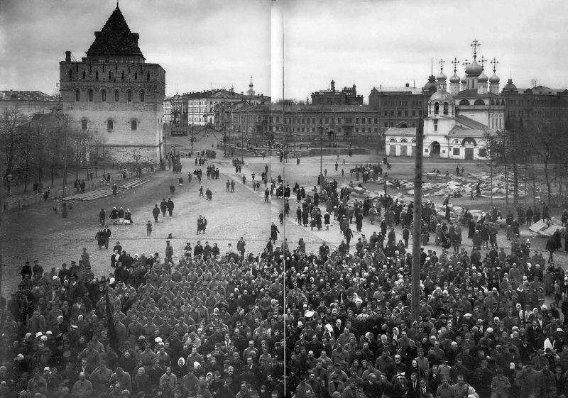 Revoluția din Octombrie în Nijni Novgorod - foto preluat de pe ro.wikipedia.org