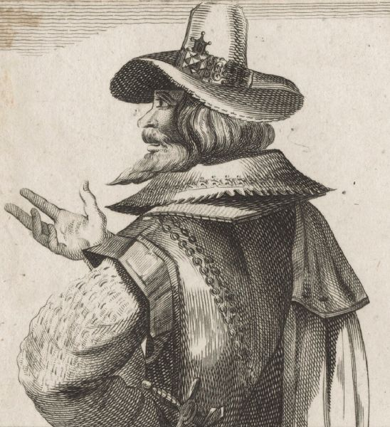 Robert Catesby (born no earlier than 3 March 1572, died 8 November 1605) was the leader of a group of provincial English Catholics who planned the failed Gunpowder Plot of 1605 - Robert Catesby, unknown artist, 1794 - foto preluat de pe en.wikipedia.org