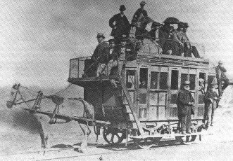 The Welsh Swansea and Mumbles Railway ran the world's first passenger tram service in 1807 - foto preluat de pe en.wikipedia.org