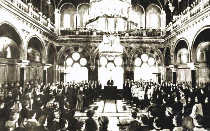 Unirea Bucovinei cu România (15/28 noiembrie 1918) - foto preluat de pe cersipamantromanesc.wordpress.com