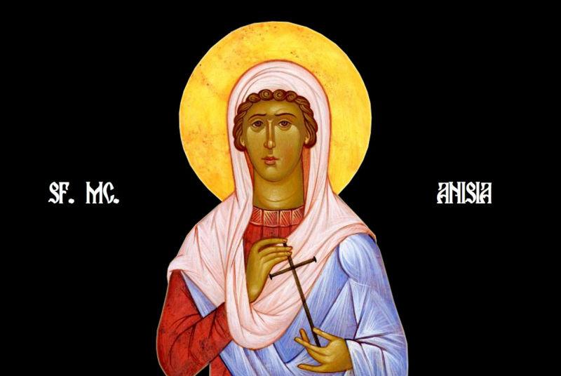Sf. Mc. Anisia fecioara (sec. al III-lea) - foto preluat de pe ziarullumina.ro