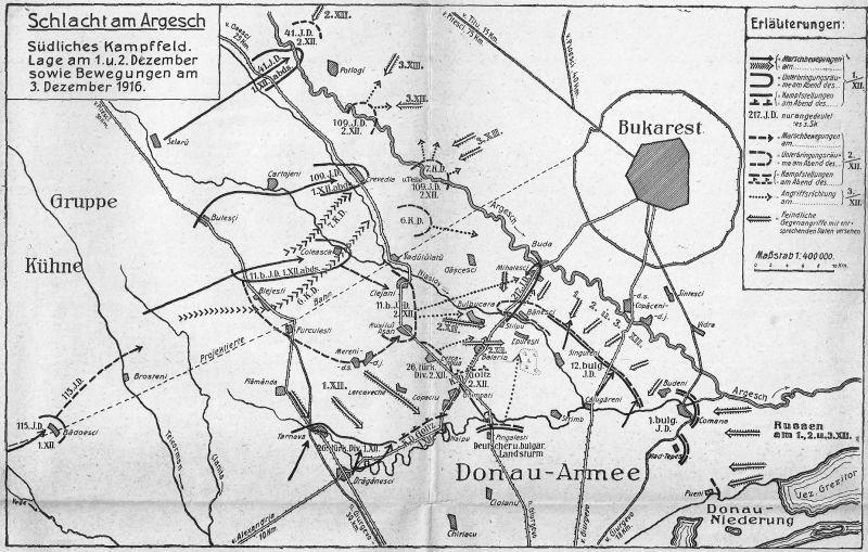 Bătălia de la Argeş (1 decembrie 1916 - 6 decembrie 1916) Parte a Participării României în campania anului 1916 - foto preluat de pe ro.wikipedia.org