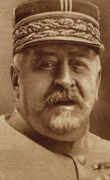 Henri Mathias Berthelot (n. 7 decembrie 1861, Feurs, Franța - d. 29 ianuarie 1931) a fost un general al armatei franceze. În Primul Război Mondial a fost șef de stat major al comandantului suprem al trupelor franceze pe Frontul de Vest, mareșalul Joseph Joffre. În a doua parte a războiului, începând cu luna octombrie 1916 a fost detașat în România, ca șef al Misiunii Militare Franceze. Pe toată durata misiunii în România generalul Berthelot a asigurat și rolul de consilier militar al regelui Ferdinand, comandantul de căpetenie al Armatei României - foto preluat de pe ro.wikipedia.org