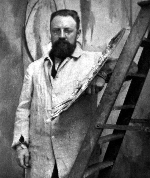 Henri Matisse (n. 31 decembrie 1869, Le Cateau-Cambrésis - d. 3 noiembrie 1954, Nisa), pictor francez, unul dintre cei mai străluciți reprezentanți ai artei secolului al XX-lea și totodată unul dintre principalii inițiatori ai artei moderne - (Henri Matisse, 1913) foto preluat de pe en.wikipedia.org