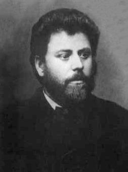 """Ion Creangă (n. 1 martie sau 10 iunie 1837, Humuleşti; d. 31 decembrie 1889, Iaşi) a fost un scriitor român - (fotografie făcută în atelierul Heck, din Iaşi, pe timpul răsboiului din 1877. Ea trebuie să corăspundă cu intrarea lui Creangă în """"Junimea"""") - foto preluat de pe ro.wikipedia.org"""