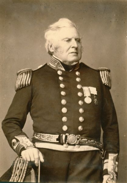 Contraamiralul Sir John Hindmarsh KH RN (n. 1785 – d. 29 iulie 1860) a fost un ofițer maritim și primul guvernator al Australiei de Sud din 28 decembrie 1836 până pe 16 iulie 1838 - foto preluat de pe en.wikipedia.org