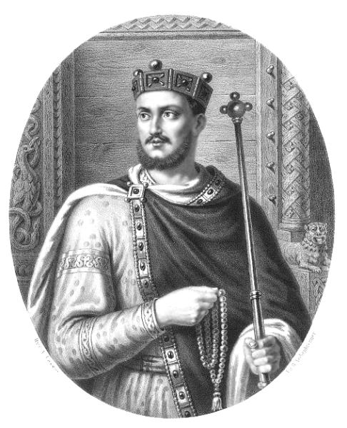 Mieszko al II-lea Lambert (cca. 990 – 10/11 mai 1034) a fost rege al Poloniei în perioada 1025 – 1031 și duce din 1032 până la moartea sa (Portrait by Aleksander Lesser) - foto preluat de pe en.wikipedia.org