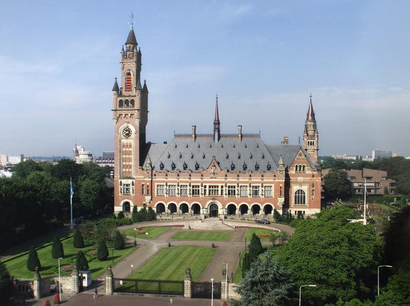 Palatul Păcii de la Haga, Olanda, găzduiește Curtea Permanentă de Justiție Internațională - foto preluat de pe ro.wikipedia.org