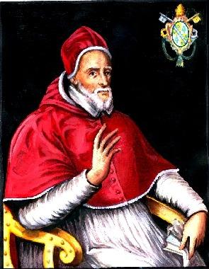Pope Gregory XIV (Latin: Gregorius XIV; 11 February 1535 – 16 October 1591), born Niccolò Sfondrato or Sfondrati, was Pope from 5 December 1590 to his death in 1591 - foto preluat de pe ro.wikipedia.org