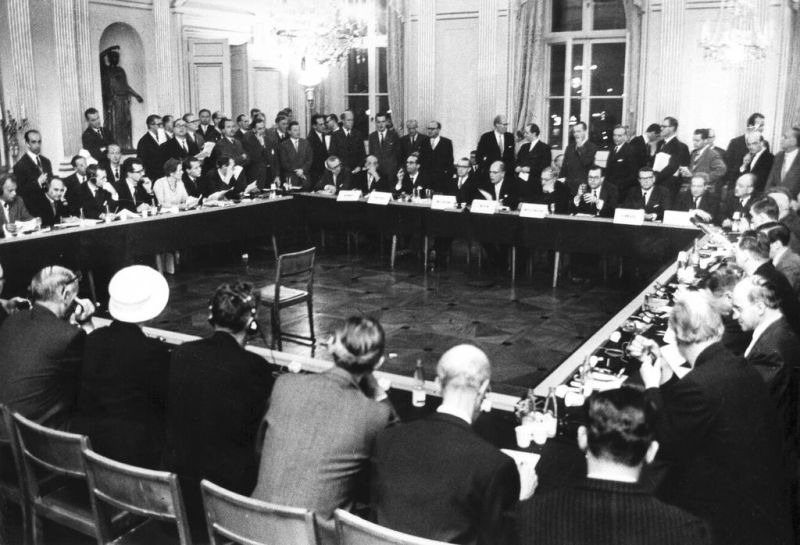 The ratification and entry into force of the Convention establishing the European Free Trade Association (EFTA) takes place in Stockholm on 3 May 1960 - foto preluat de pe www.cvce.eu