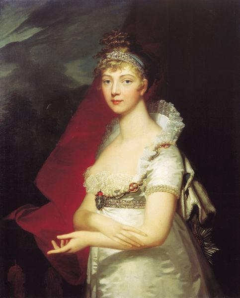 Elisabeta Alexeievna (Louise de Baden) (13 / 24 ianuarie 1779 – d. 4 / 16 mai 1826) a fost soţia împăratului Alexandru I al Rusiei - foto preluat de pe ro.wikipedia.org