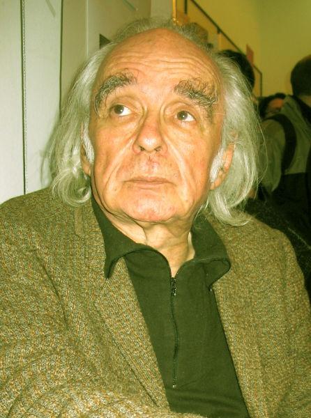 Emil Brumaru (n. 25 decembrie 1938, Bahmutea - d. 5 ianuarie 2019) a fost un scriitor și poet contemporan român - foto preluat de pe ro.wikipedia.org