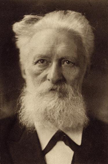 Rudolf Christian Eucken (n. 5 ianuarie 1846 la Aurich - d. 15 septembrie 1926 Jena) a fost un filosof german, laureat al Premiului Nobel pentru Literatură în anul 1908 - foto preluat de pe ro.wikipedia.org