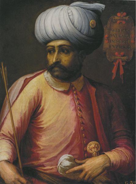 Selim I (poreclit Cel Necruțător, 10 octombrie, 1465 – 22 septembrie, 1520) a fost sultanul Imperiului Otoman între anii 1512 - 1520. El a cucerit Egiptul în 1516-1517, învingând armatele mamelucilor și i-a înfrânt pe perși la Caldiran în 1514 - foto preluat de pe ro.wikipedia.org