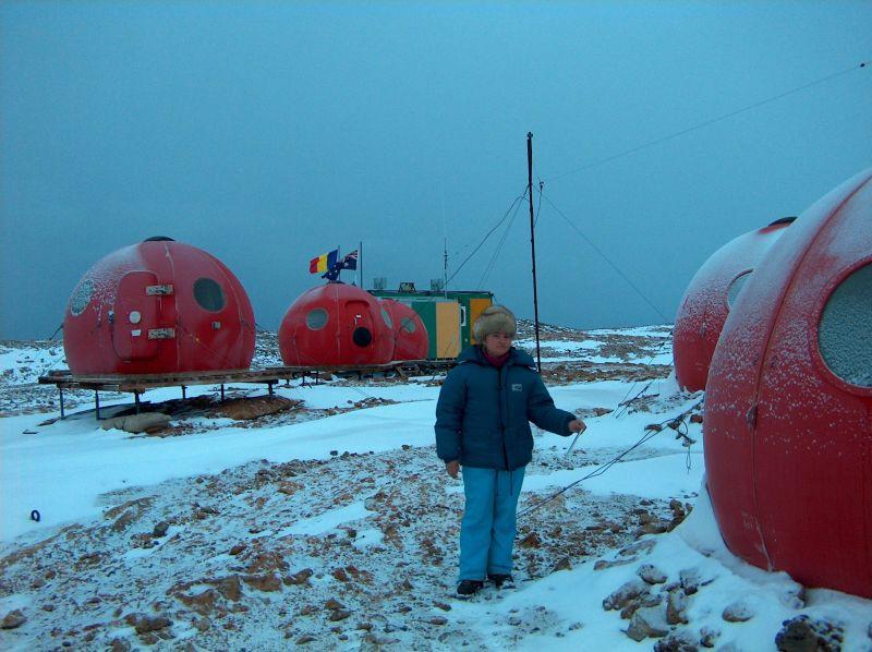 Dr. Topârceanu la stația Law-Racoviță - foto preluat de pe ro.wikipedia.org
