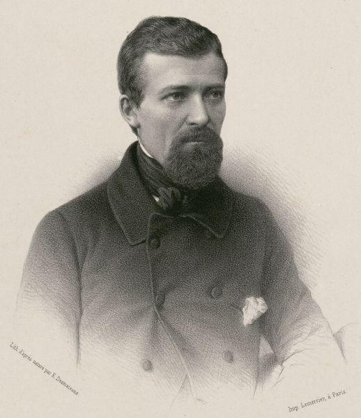 "Alexandre Martin (27 April 1815 – 28 May 1895), nicknamed Albert l'Ouvrier (""Albert the Worker"") - foto preluat de pe en.wikipedia.org"