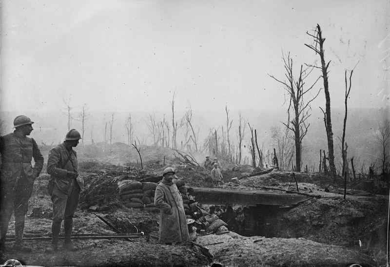 Bătălia de la Verdun (21 februarie 1916 - 18 decembrie 1916) - foto preluat de pe ro.wikipedia.org