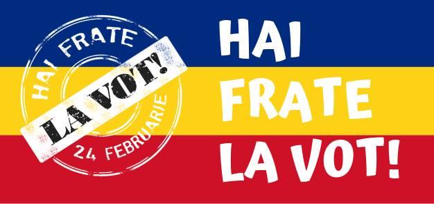 Hai, frate, la vot!  (24 februarie 2019) - foto preluat de pe www.facebook.com