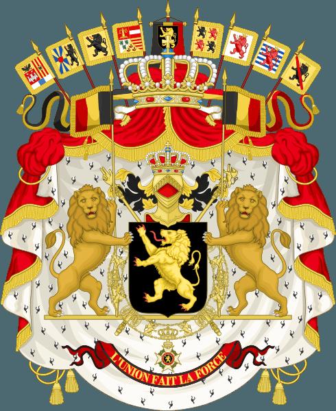 Stema Belgiei - foto preluat de pe ro.wikipedia.org