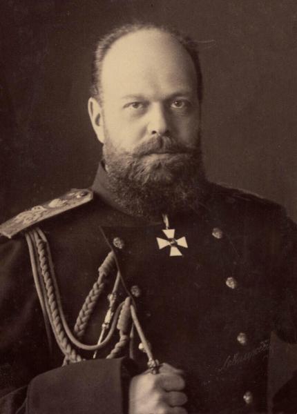 Alexandru al III-lea al Rusiei (n. 10 martie 1845 - d. 1 noiembrie 1894) a fost împărat al Rusiei din 13 martie 1881 până la decesul său în 1894 - foto preluat de pe en.wikipedia.org