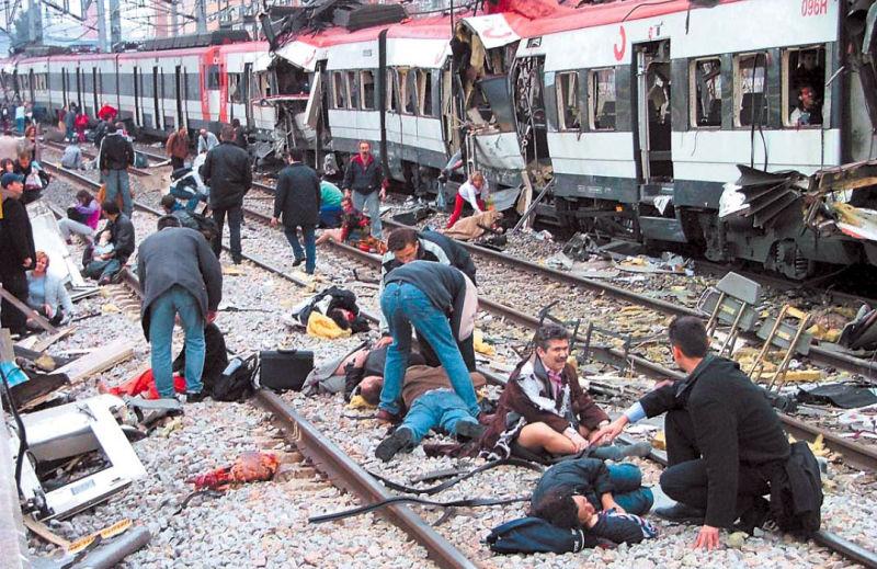 Atentatele din 11 martie 2004 de la Madrid - foto preluat de pe www.securityoutlines.cz