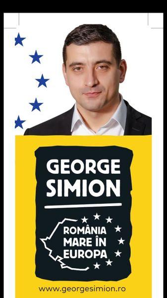 George Simion, candidat independent la alegerile europarlamenare din 2019 - foto preluat de pe www.facebook.com