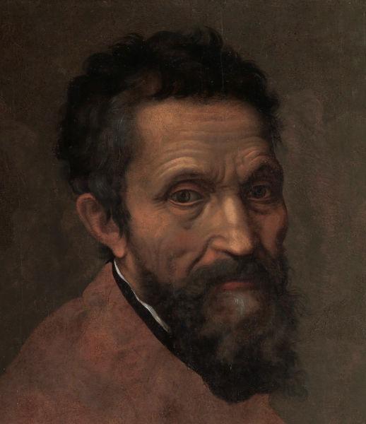 Michelangelo Buonarroti (n. 6 martie 1475, Caprese, Provincia Arezzo - d. 18 februarie 1564, Roma) a fost, alături de Leonardo da Vinci, cel mai important artist în perioada de vârf a Renașterii Italiene. Geniul său universal este deopotrivă oglindit de pictură, desen, sculptură și arhitectură. A scris și poezii, în special în genul sonetului și madrigalului (Portrait of Michelangelo by Daniele da Volterra) - foto preluat de pe ro.wikipedia.org