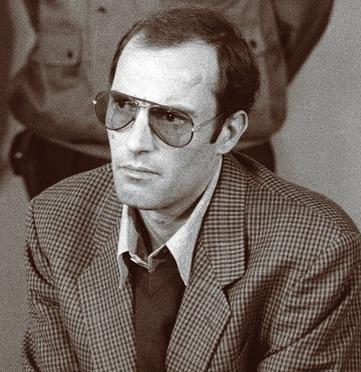 Nicu Ceaușescu (n. 1 septembrie 1951, București – d. 25 septembrie 1996, Viena) a fost al treilea fiu al dictatorului Nicolae Ceaușescu și al soției sale. Numit în funcția de prim-secretar al organizației PCR Sibiu către sfârșitul regimului comunist din România, a fost considerat un potențial succesor în funcție al tatălui său. A fost arestat în zilele Revoluției din 1989 și condamnat ulterior la o pedeapsă cu închisoarea, fiind eliberat pe motive medicale - (Nicu Ceaușescu la procesul de la Tribunalul Militar Bucuresti, 1990) - foto preluat de pe ro.wikipedia.org