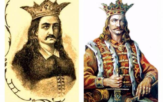 Radu cel Frumos (1462 – 1473, 1473 – 1475) si Stefan cel Mare (1457 – 1504) - foto preluat de pe adevarul.ro