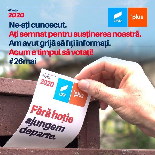Alianța 2020 USR PLUS - foto preluat de pe www.facebook.com/alianta2020usrplus