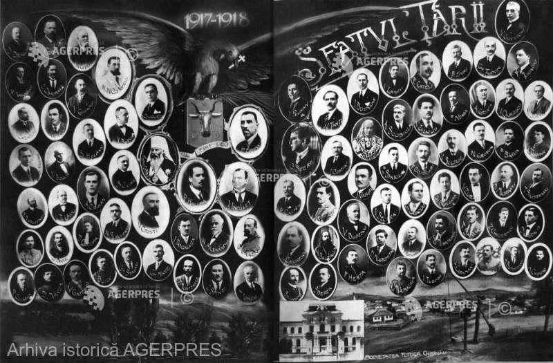 Unirea Basarabiei cu România (27 martie 1918) - foto preluat de pe www.agerpres.ro