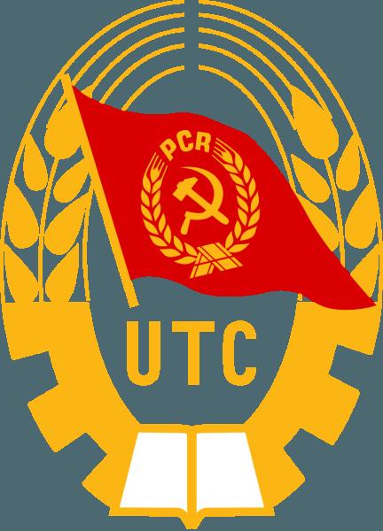 Stema Uniunii Tineretului Comunist - foto preluat de pe ro.wikipedia.org