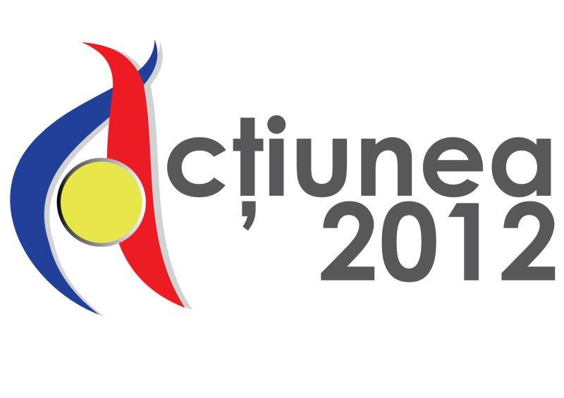 Platforma Unionistă Acţiunea 2012 este coaliția organizațiilor civice din România, Republica Moldova și Diaspora care susţin prin acțiuni și inițiative constante unirea celor două state românești - foto preluat de pe 10tv.md