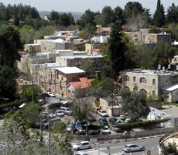 Deir Yassin astăzi, parte a Centrului de Sănătate Mintală Kfar Shaul, un spital de psihiatrie israelian - foto preluat de pe en.wikipedia.org