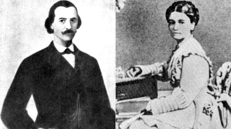 Gheorghe Magheru și Maria Caramalău - foto preluat de pe www.historia.ro