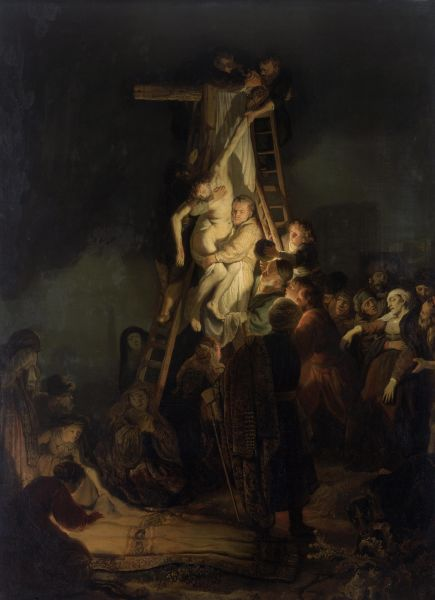 The Descent from the Cross (Rembrandt, 1634) - foto preluat de pe en.wikipedia.org