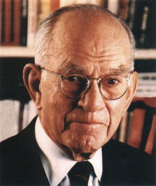 James William Fulbright (n. 9 aprilie 1905 - d. 9 februarie 1995) a fost un politician american, fondatorul programului școlar cei poartă numele - foto preluat de pe en.wikipedia.org