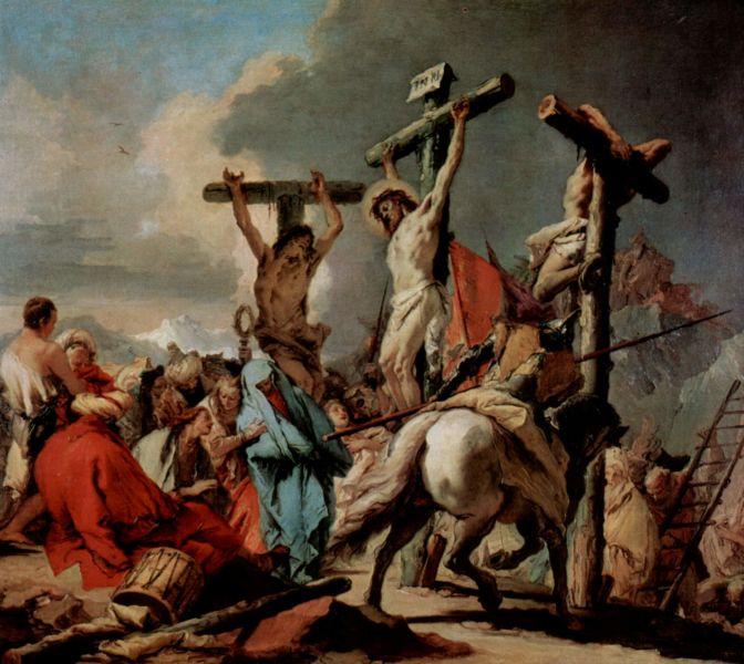 Răstignirea lui Isus (Giovanni Battista Tiepolo) - foto preluat de pe ro.wikipedia.org