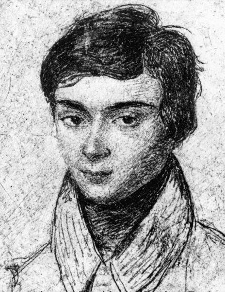 Évariste Galois (n. 25 octombrie 1811, Bourg-la-Reine, Franța – d. 31 mai 1832, Paris, Franța) a fost un matematician francez, care, deși a trăit numai 20 de ani, a adus contribuții notabile în domeniul algebrei - (Portret al lui Évariste Galois în vârstă de aproximativ 15 ani) foto preluat de pe ro.wikipedia.org