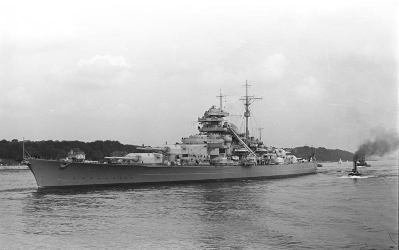 Bismarck in 1940 - foto preluat de pe ro.wikipedia.org