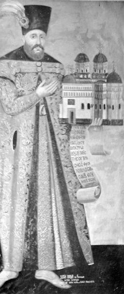 Gheorghe Duca (cca. 1620 – 31 martie 1685) a fost domn al Moldovei de trei ori: septembrie 1665 - mai 1666; noiembrie 1668 - 10 august 1672; noiembrie 1678 - 25 decembrie 1683 şi al Ţării Româneşti: noiembrie/decembrie 1674 - 29 noiembrie 1678. În 1680, turcii îl numesc hatman al Ucrainei - (frescă la Mănăstirea Cetăţuia) foto preluat de pe ro.wikipedia.org