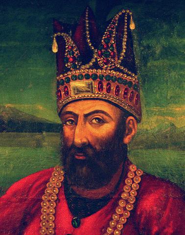 Nader Shah Afshar (August 1688 – 19 June 1747) - foto preluat de pe en.wikipedia.org