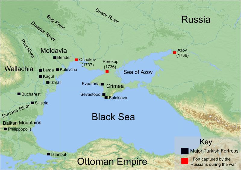 Războiul Ruso-Turc (1735–1739) - foto preluat de pe commons.wikimedia.org